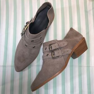 Rebecca Minkoff Booties Taupe/Tan Size 8.5